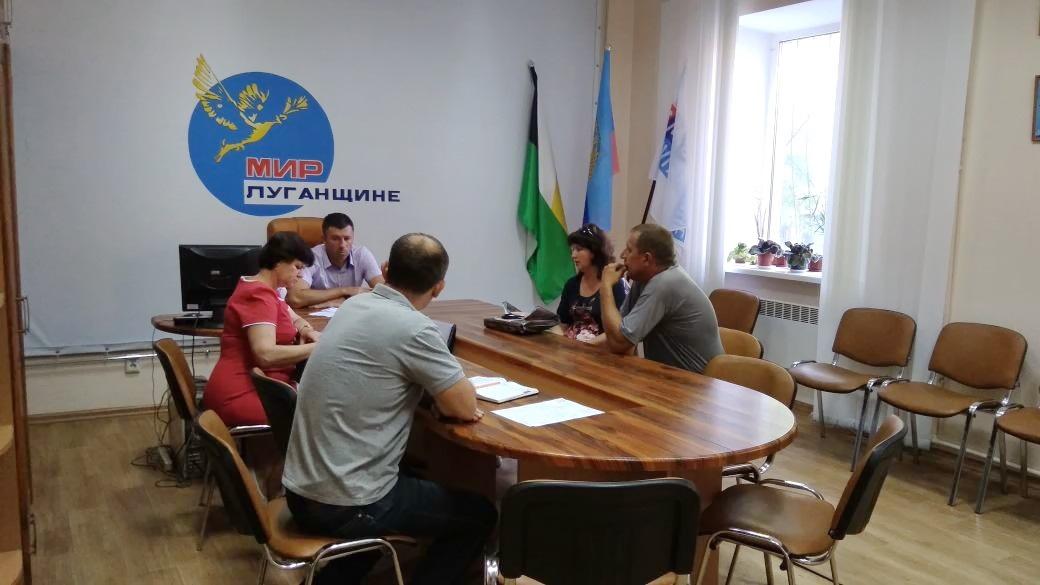 Глава Администрации Свердловска и Свердловского района провёл приём граждан 1