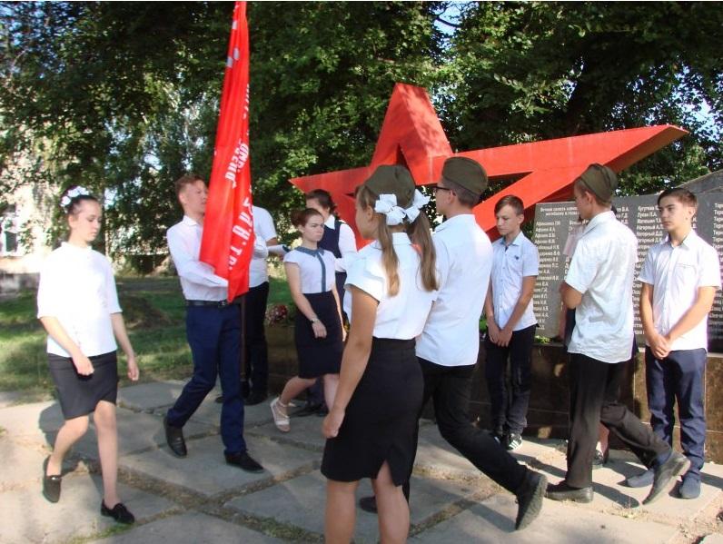 Школы Краснодона поучаствовали в «Эстафете Победы» 2