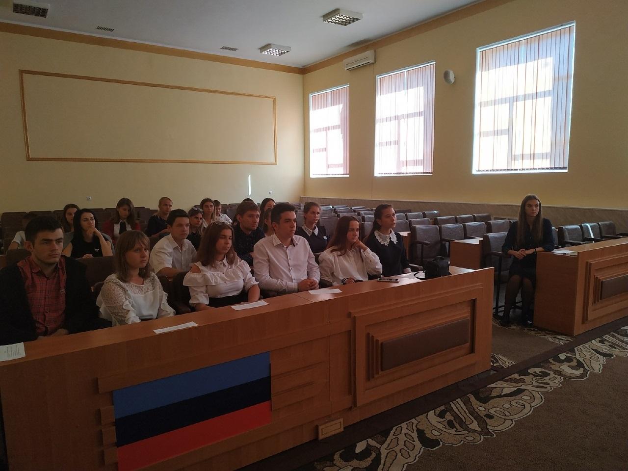 Активисты проекта «Молодая Гвардия» Перевальского теротеделения обсудили текущую работу и планы на сентябрь 1