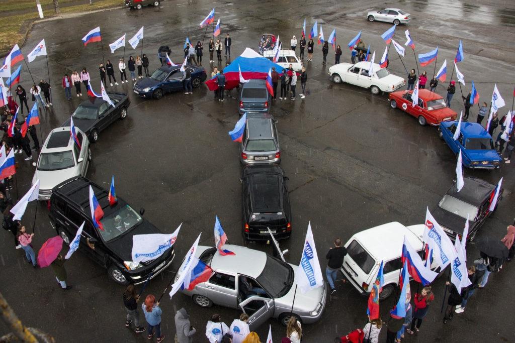 «Наше направление в Россию»: в Луганске состоялся автопробег в честь Дня русского единения 3