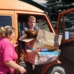 От проекта «Волонтер» передали гуманитарную помощь прифронтовым поселкам