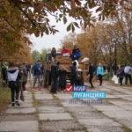 Активисты Общественного движения «Мир Луганщине» провели субботник в Луганске