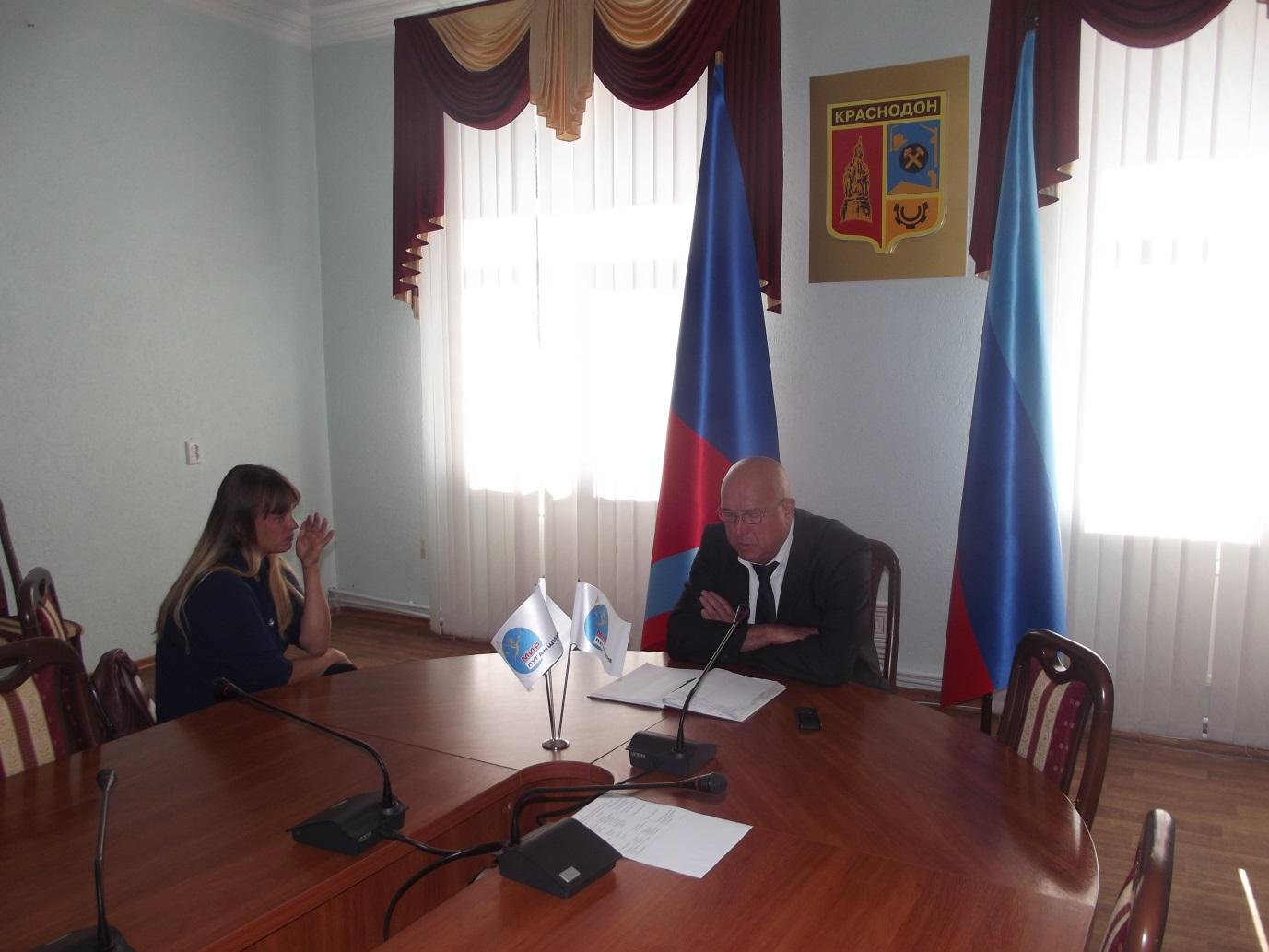 Временно исполняющий обязанности Главы Администрации Краснодона обсудил проблемы жителей города 1