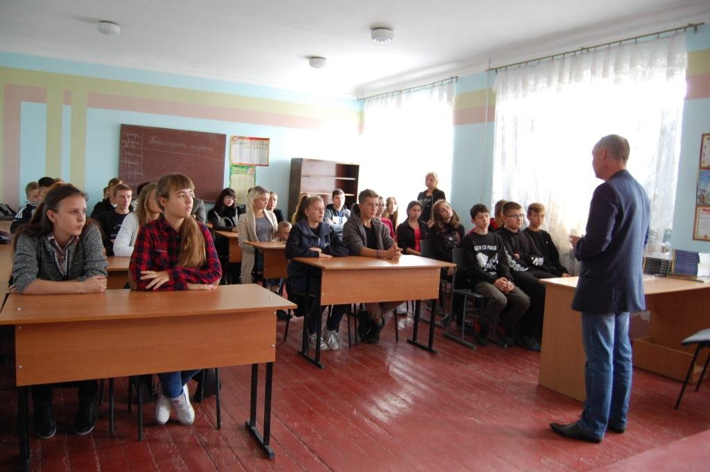 Павел Зайко рассказал студентам Лутугинского колледжа о проекте «Лидеры Луганщине» 2