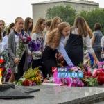 Более 500 жителей Первомайска приняли участие в митинге в день освобождения города от немецко-фашистских захватчиков