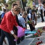 Стахановчане почтили память погибших защитников Республики