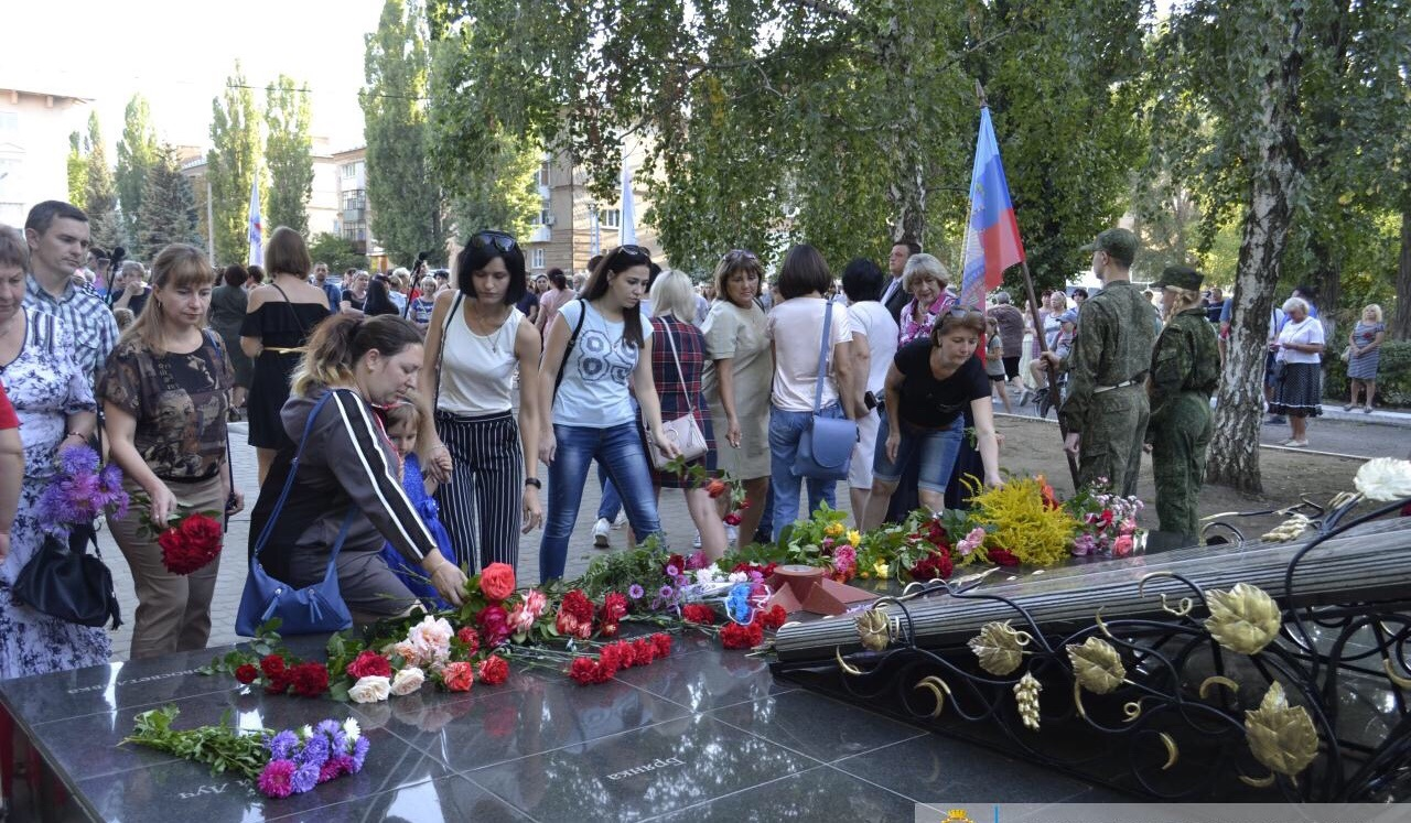 В Лутугино отметили пятую годовщину освобождения района от оккупации ВСУ 1