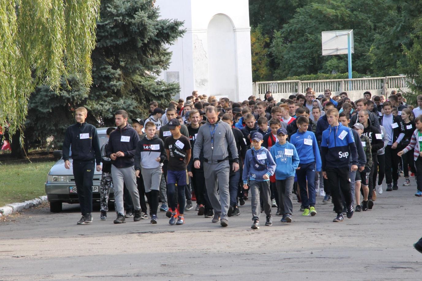 В Антраците состоялась пробежка в рамках всероссийской акции «Беги за мной» 1