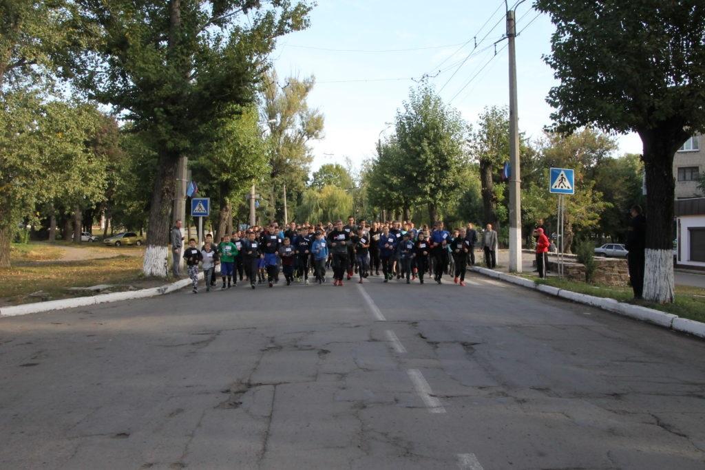 В Антраците состоялась пробежка в рамках всероссийской акции «Беги за мной» 3