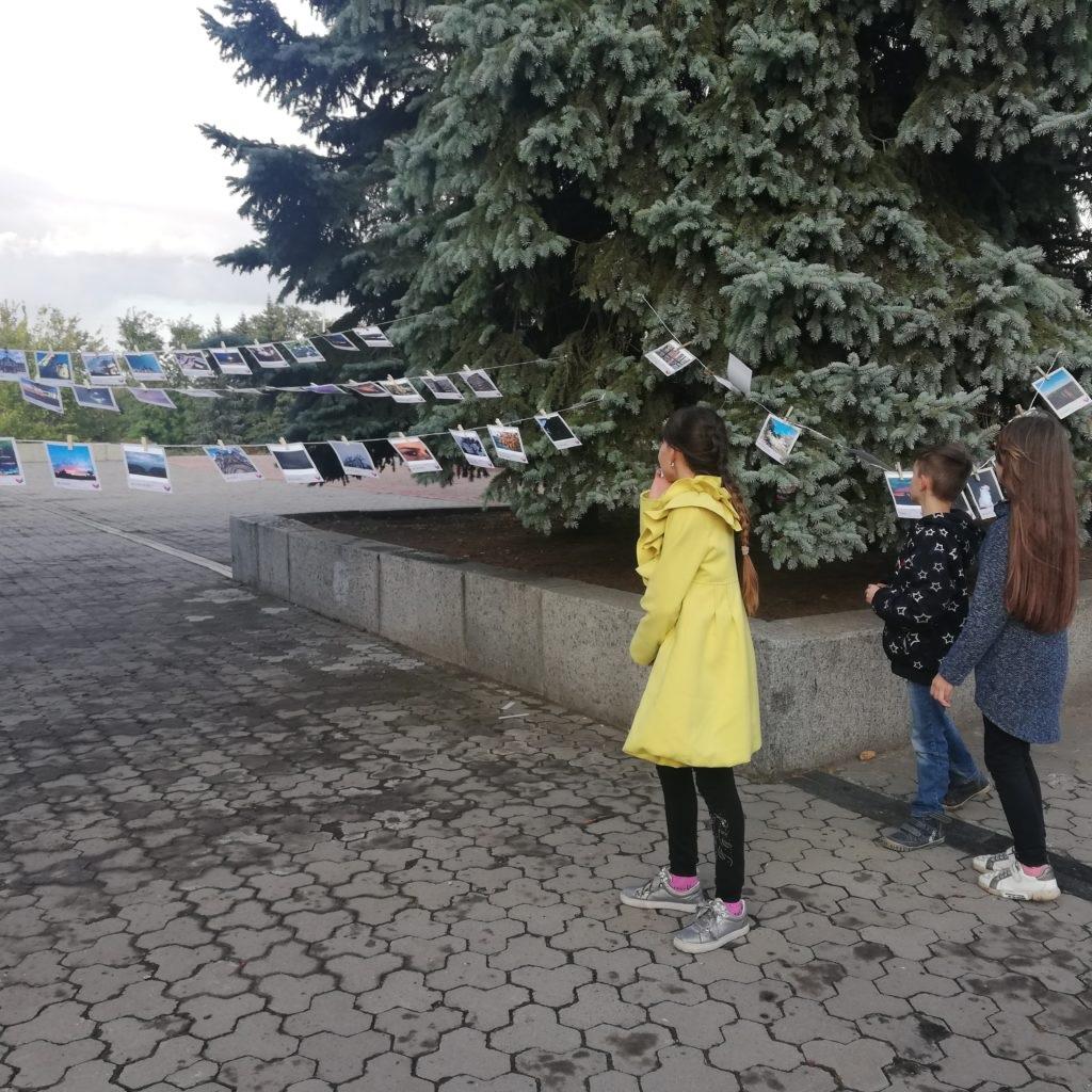В Стаханове прошла «фотосушка», посвященная Международному дню мира 2