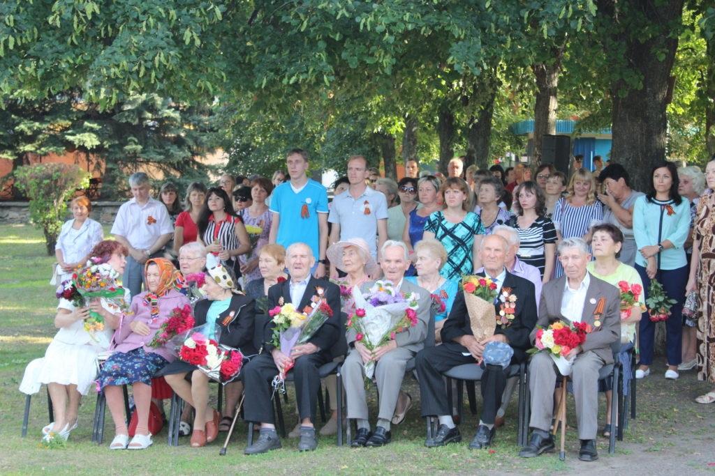 В Славяносербске состоялся митинг, посвященный 76-й годовщине освобождения поселка 2