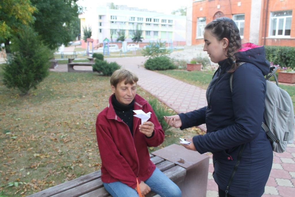 Акция «Молодёжь выбирает мир» прошла в Перевальске 3