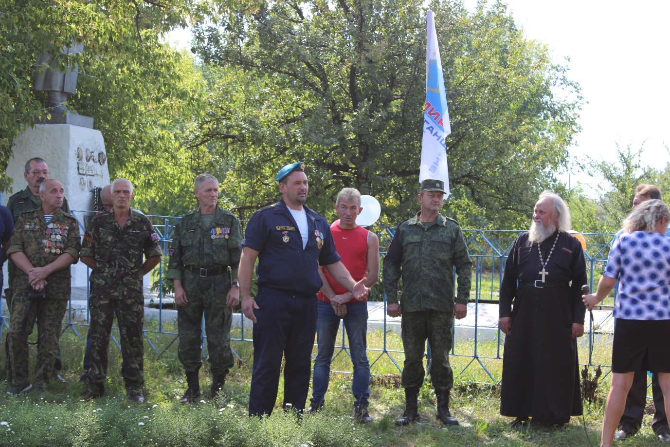 В Ореховке состоялся торжественный митинг ко Дню освобождения села 1