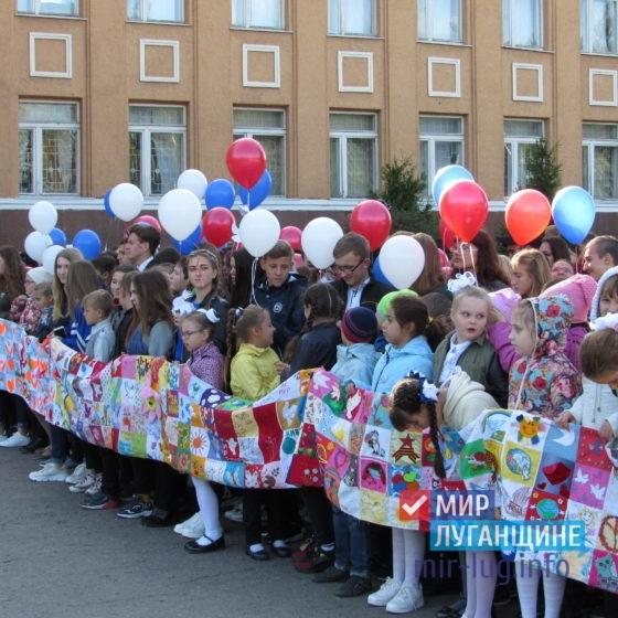 В Стаханове состоялась акция «Голубь мира» 3