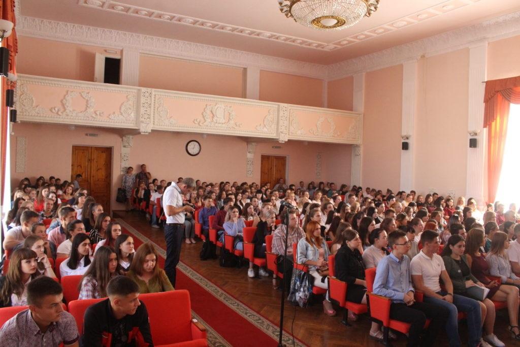 Студенты луганских вузов заинтересовались проектом «Лидеры Луганщины» 6