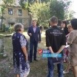 Депутат Народного Совета ЛНР Владимир Поляков обсудил проблемные вопросы с жителями Перевальска