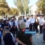 Час памяти, посвященный 76-летию освобождения от немецко-фашистских захватчиков, состоялся  в Стаханове