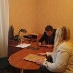 Депутат Народного Совета Луганской Народной республики встретился с жителями Перевальска