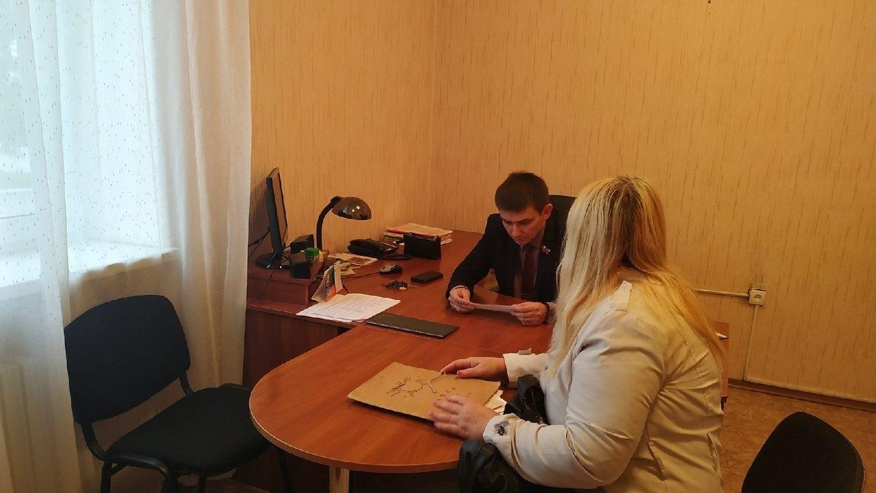Депутат Народного Совета Луганской Народной республики встретился с жителями Перевальска 1