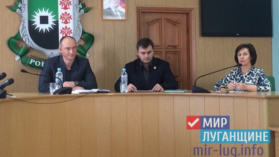 Первый заместитель Министра культуры, спорта и молодежи ЛНР встретился с жителями Ровеньков 1