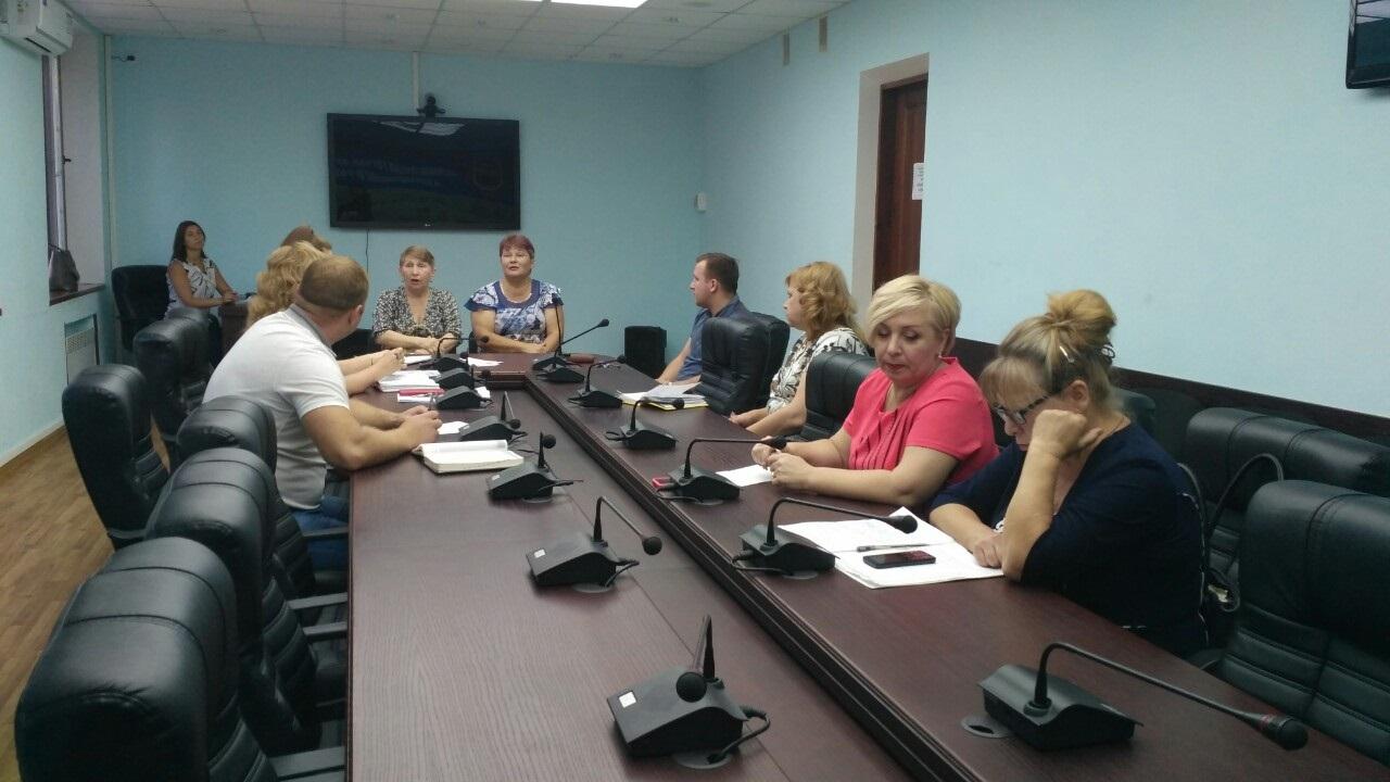 В Антраците состоялся прием граждан заместителем Председателя местного теротделения 1