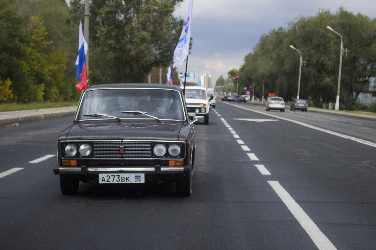 «Наше направление в Россию»: в Луганске состоялся автопробег в честь Дня русского единения 1
