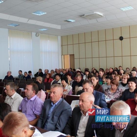 Депутат Народного Совета ЛНР встретилась с руководителями Славяносербских организаций и предприятий 5
