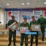 В Луганске состоялась выдача гуманитарной помощи от проекта «Волонтер»