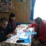 В селе Красном Краснодонского района Александра Коваленко провели прием граждан