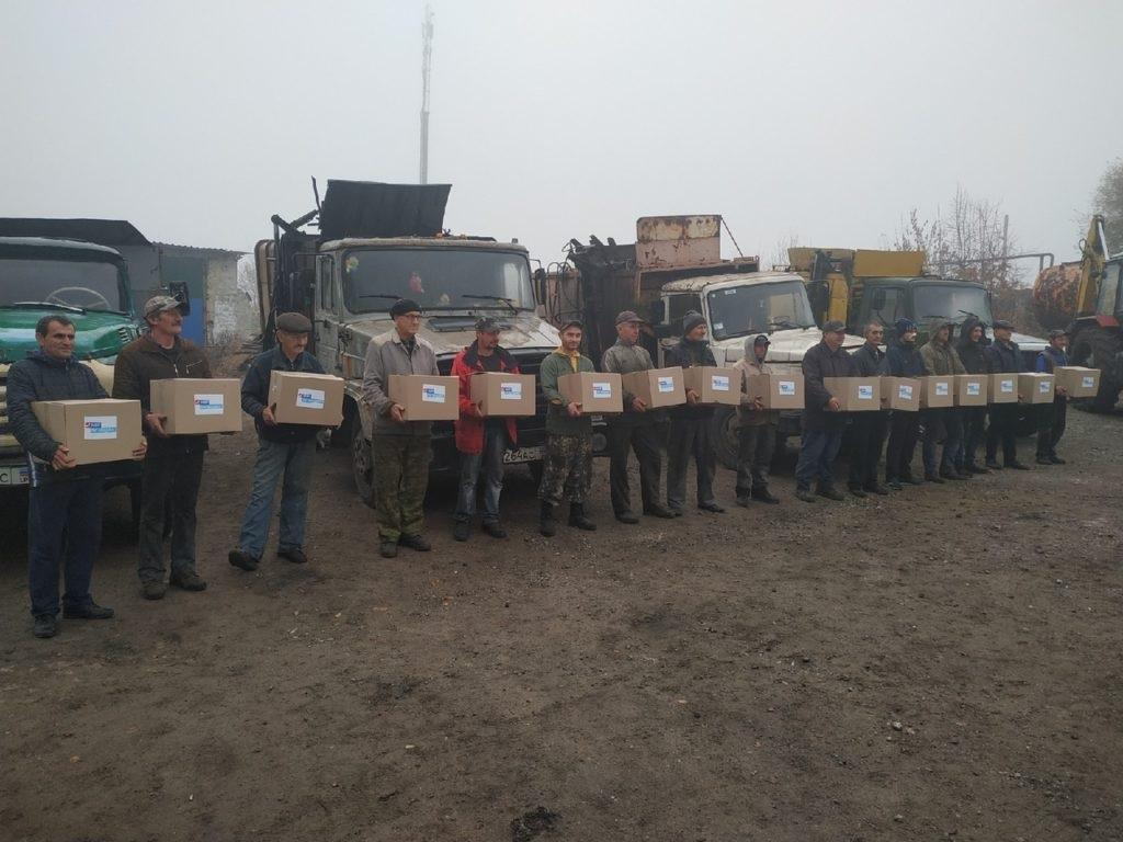 Представители ОД «Мир Луганщине» поздравили работников с Днем автомобилиста в Перевальске 2