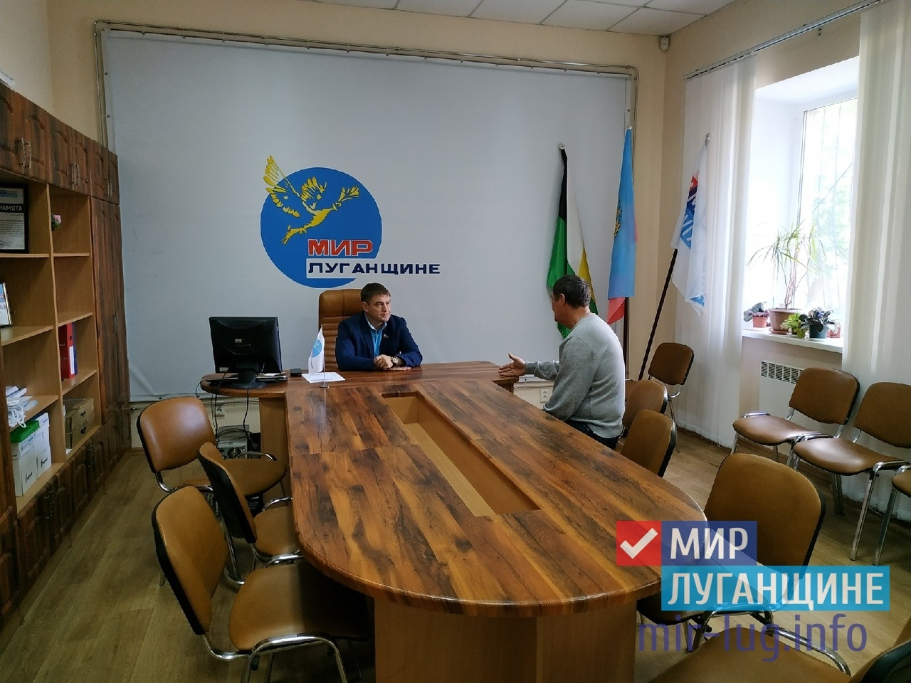 Депутат Народного Совета ЛНР провел прием в Свердловске 1