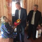 Жительницу Лутугино поздравили с юбилеем