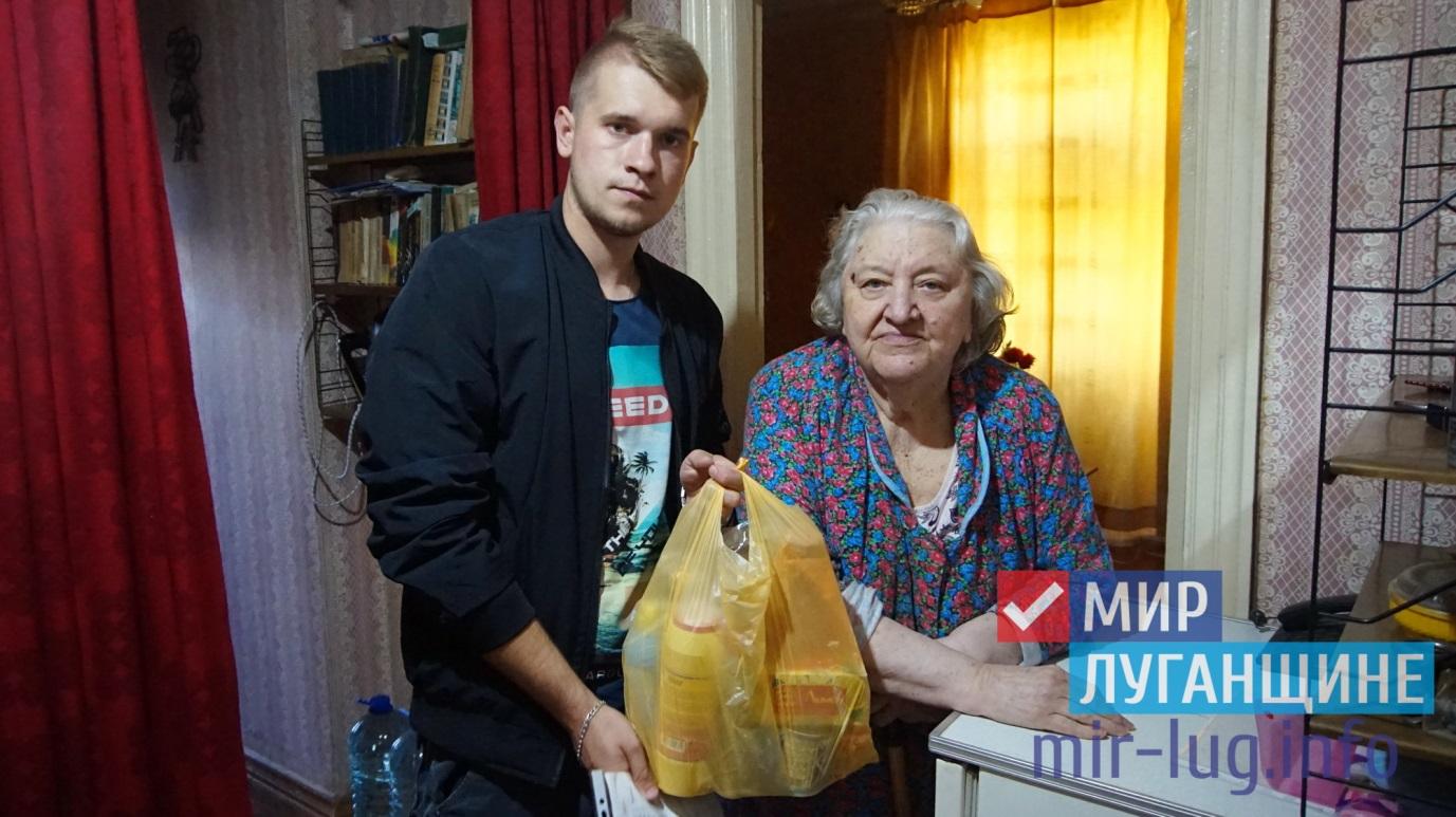 Участники проекта «Волонтёр» передали луганчанам партию шефской помощи 1