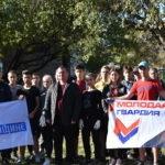 Активисты ОД «Мир Луганщине» благоустроили детскую спортивную площадку в Стаханове