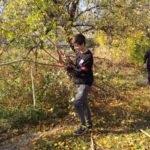 Славяносербские студенты помогли ветеранам ВОВ