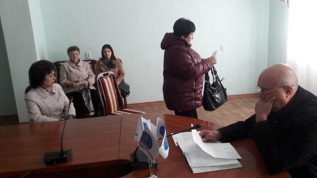 Личный прием временно исполняющего обязанности Главы Администрации города и района состоялся В Краснодоне 2