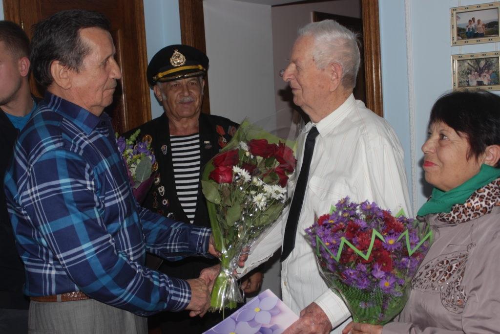 Ветерана Великой Отечественной войны  поздравили с 96-летием в Первомайске 2