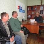 В Стаханове провел прием граждан Сергей Жевлаков