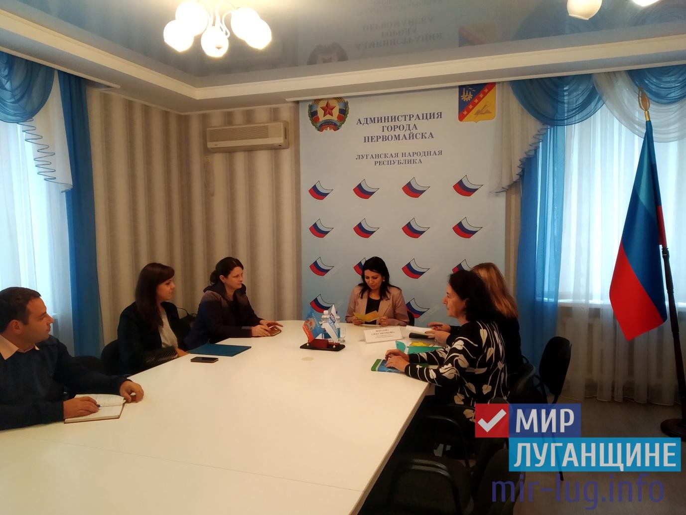 Елена Фарахова встретилась с жителями Первомайска 1