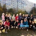 Студенты Луганских колледжей привели в порядок детскую площадку