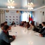 Елена Фарахова провела встречу с молодежью в Первомайске