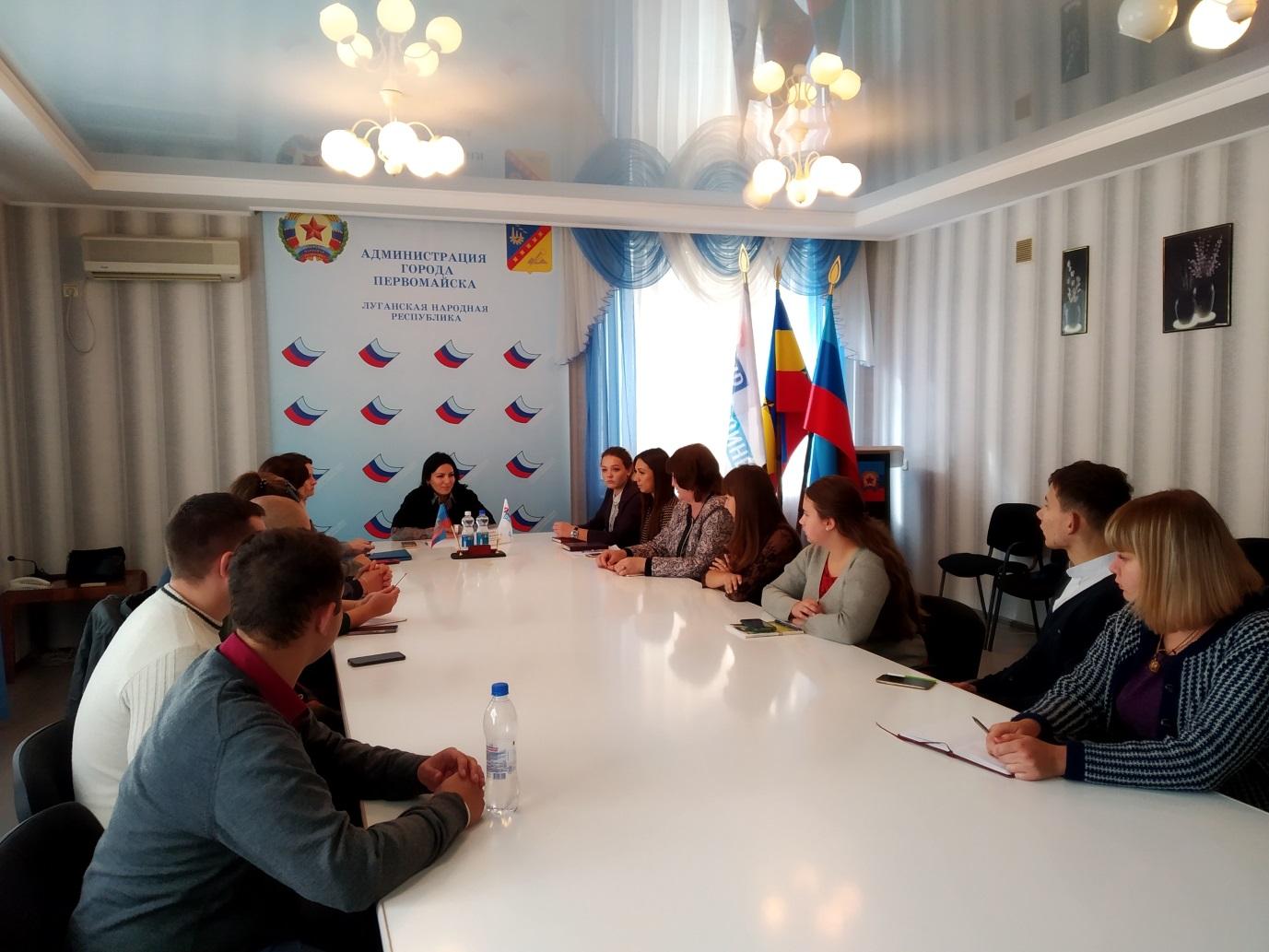 Елена Фарахова провела встречу с молодежью в Первомайске 1