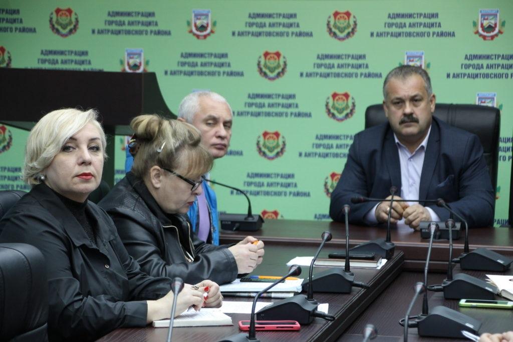 В Антраците состоялся прием граждан Сергеем Саенко 2