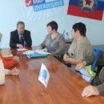 Александр Дейнека провел прием граждан в Славяносербске