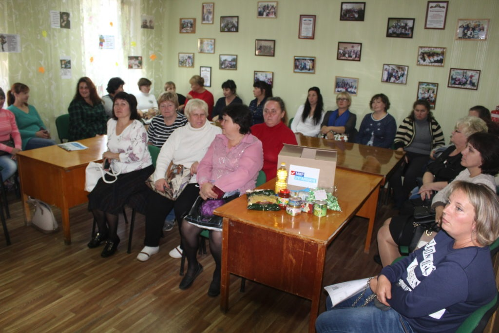Активисты проекта «Волонтер» доставили в Славяносербск наборы гуманитарной помощи 2