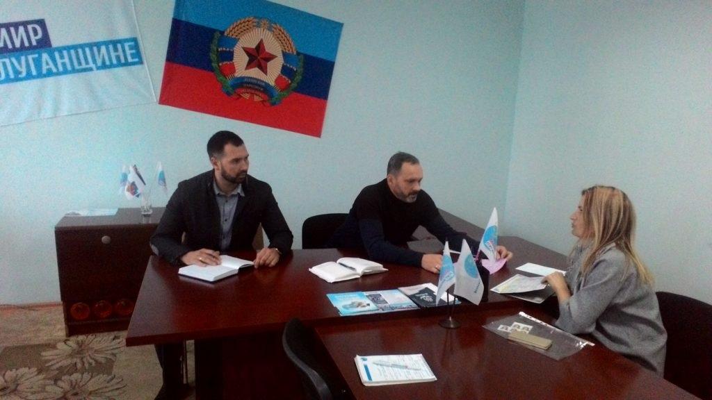 Депутат Народного Совета Луганской Народной Республики провел прием в Славяносербске 2