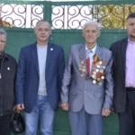 Ветерана Великой Отечественной войны поздравили с 92-летием в Лутугино