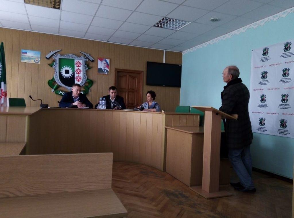 Заместитель министра связи и массовых коммуникаций ЛНР провел прием в Ровеньках 3