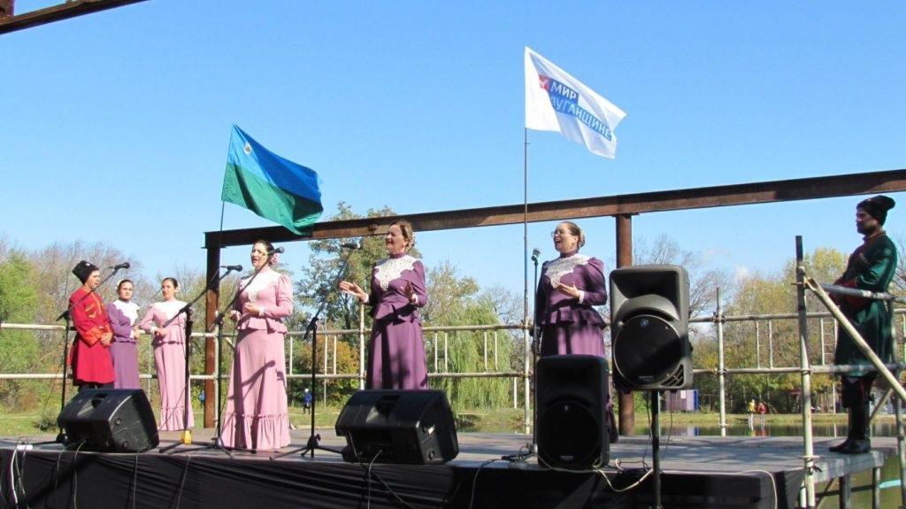 В жилом массиве Завадск в Брянке состоялся Региональный фестиваль народного искусства «Раздолье» 3