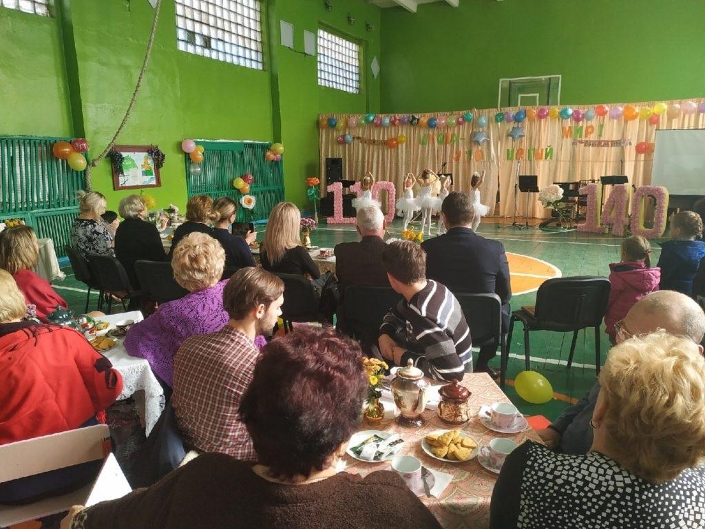 В поселке Михайловка отметили 140–летие основания гимназии 3
